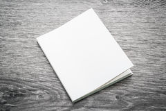 Blank white mock up book Royalty Free Stock Images