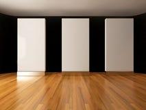 Blank white mockup Stock Photo