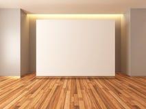 Blank white mockup Stock Image