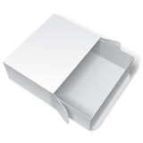 Blank White Package Box Royalty Free Stock Image