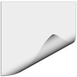 Blank white paper Royalty Free Stock Photo