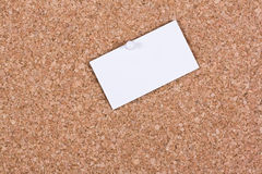 Blank white paper Stock Images