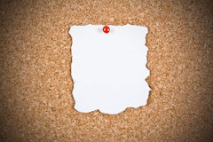 Blank white paper Royalty Free Stock Images