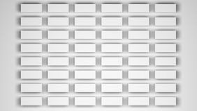 Blank white paper sheets Royalty Free Stock Photos