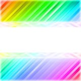 Blank white plate on the colorful background. Blank white plate on the colorful diagonal lines background. High resolution 3D image Royalty Free Stock Photo