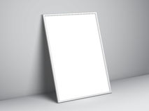 Blank White Poster Template Stock Photography