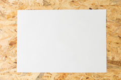 Blank white sheet of paper, Royalty Free Stock Photo