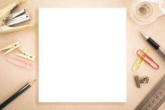 Blank white space Royalty Free Stock Image