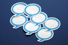 Speech bubble Stock Photos