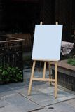 Blank whiteboard Royalty Free Stock Image
