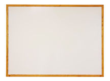 Blank whiteboard isolated Stock Photo