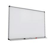 Blank Whiteboard Isolated. On white background. 3D render Stock Images