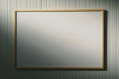 Blank whiteboard in the office, white board as copy space Royalty Free Stock Images