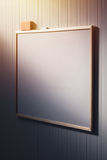 Blank whiteboard in the office, white board as copy space Royalty Free Stock Photo
