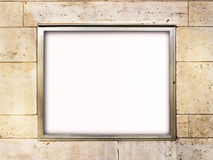 Blank window display Stock Photography
