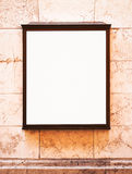 Blank window display Royalty Free Stock Photos