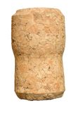 Blank wine cork Stock Photos