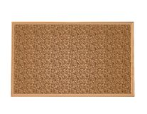 Blank wood cork board, with blank copy space, isolated Stock Images