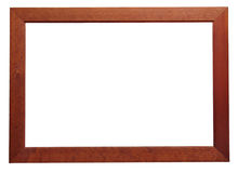 Blank wood frame Stock Photo