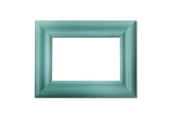 Blank Wood Frame Stock Photo