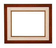 Blank wood frame Royalty Free Stock Photo