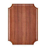 Blank Wood plaque. Stock Images