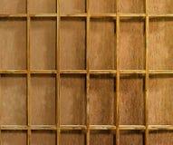 Blank of wood shelf. The Blank of wood shelf royalty free stock photos