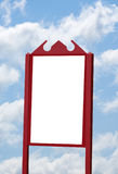 Blank Wood Sign Stock Images