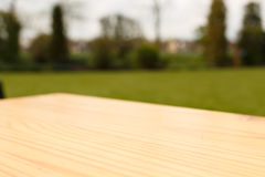 Blank wooden board Royalty Free Stock Photography