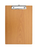 Blank wooden Clip board royalty free stock images