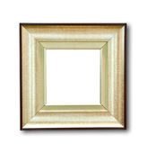 The Blank of wooden frame Stock Images