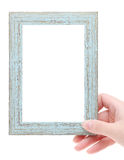 Blank wooden frame Royalty Free Stock Photo