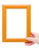 Blank wooden frame Royalty Free Stock Photography