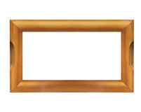 Blank wooden frame isolated Stock Photos