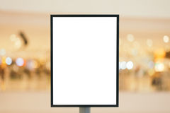 Blank wooden sign with copy space for your text message or conte Stock Image