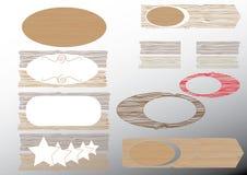 Blank wooden sign. Vector illustration vector illustration