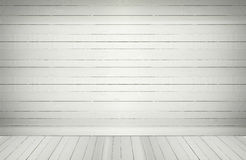 Blank wooden wall  floor in an empty room Royalty Free Stock Photos