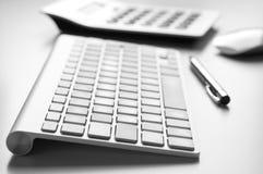 blank workspace för kontorspappersbrevpapper Arkivbild