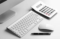 blank workspace för kontorspappersbrevpapper Arkivfoton