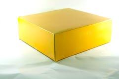 Blank yellow box Stock Photo