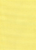 Blank yellow checkered page Royalty Free Stock Images