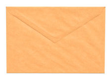 Blank yellow envelope Royalty Free Stock Images