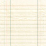 Sepia lined paper sheet background or textured Royalty Free Stock Image