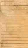 Blank yellow lined paper sheet background or textured Stock Photo