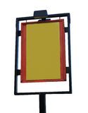 Blank pub sign Stock Images