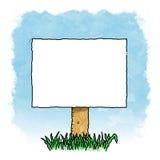 blank znak Obrazy Royalty Free