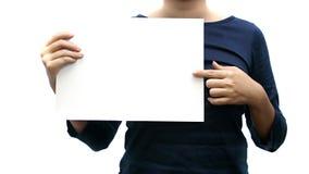 blank znak fotografia stock