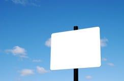 blank znak Zdjęcia Stock