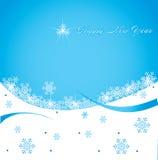 blank3 χιόνι Στοκ Εικόνες