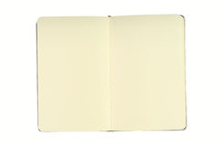 blanka anteckningsboksidor Royaltyfri Bild